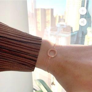 Organic circle bracelet